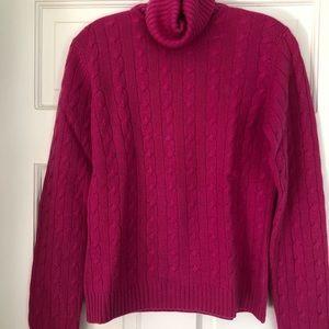 Lily Pulitzer cashmere turtleneck sweater